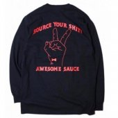 <img class='new_mark_img1' src='https://img.shop-pro.jp/img/new/icons1.gif' style='border:none;display:inline;margin:0px;padding:0px;width:auto;' />R-SAUCE L/S T-Shirt〔Black〕