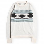 <img class='new_mark_img1' src='https://img.shop-pro.jp/img/new/icons1.gif' style='border:none;display:inline;margin:0px;padding:0px;width:auto;' />WEST RIDE / NGT NAVAJO LONG TEE (IVORY)