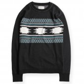 <img class='new_mark_img1' src='https://img.shop-pro.jp/img/new/icons1.gif' style='border:none;display:inline;margin:0px;padding:0px;width:auto;' />WEST RIDE / NGT NAVAJO LONG TEE (BLACK)