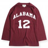 <img class='new_mark_img1' src='https://img.shop-pro.jp/img/new/icons1.gif' style='border:none;display:inline;margin:0px;padding:0px;width:auto;' />WEST RIDE / ALABAMA FOOTBALL TEE (BURGUNDY)