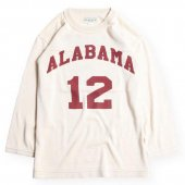 <img class='new_mark_img1' src='https://img.shop-pro.jp/img/new/icons1.gif' style='border:none;display:inline;margin:0px;padding:0px;width:auto;' />WEST RIDE / ALABAMA FOOTBALL TEE (IVORY)
