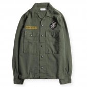 <img class='new_mark_img1' src='https://img.shop-pro.jp/img/new/icons1.gif' style='border:none;display:inline;margin:0px;padding:0px;width:auto;' />WEST RIDE / LEONARD ARMY SHIRTS (OD)