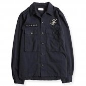<img class='new_mark_img1' src='https://img.shop-pro.jp/img/new/icons1.gif' style='border:none;display:inline;margin:0px;padding:0px;width:auto;' />WEST RIDE / LEONARD ARMY SHIRTS (NAVY)