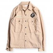 <img class='new_mark_img1' src='https://img.shop-pro.jp/img/new/icons1.gif' style='border:none;display:inline;margin:0px;padding:0px;width:auto;' />WEST RIDE / LEONARD ARMY SHIRTS (BEIGE)