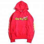 <img class='new_mark_img1' src='https://img.shop-pro.jp/img/new/icons1.gif' style='border:none;display:inline;margin:0px;padding:0px;width:auto;' />EVILACT / THUNDER SWEAT HOODIE (RED)