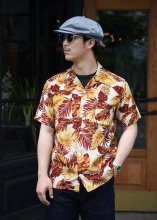 <img class='new_mark_img1' src='https://img.shop-pro.jp/img/new/icons1.gif' style='border:none;display:inline;margin:0px;padding:0px;width:auto;' />TROPHY CLOTHING - DUKE HAWAIIAN S/S SHIRT (RED)