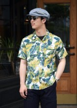 <img class='new_mark_img1' src='https://img.shop-pro.jp/img/new/icons1.gif' style='border:none;display:inline;margin:0px;padding:0px;width:auto;' />TROPHY CLOTHING - DUKE HAWAIIAN S/S SHIRT (GREEN)