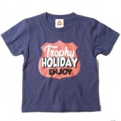 "<img class='new_mark_img1' src='https://img.shop-pro.jp/img/new/icons1.gif' style='border:none;display:inline;margin:0px;padding:0px;width:auto;' />TROPHY CLOTHING - ""HOLIDAY"" SHIELD LOGO TEE.(KIDS SIZE) (NAVY)"