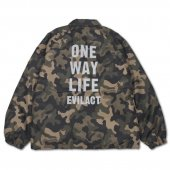 <img class='new_mark_img1' src='https://img.shop-pro.jp/img/new/icons1.gif' style='border:none;display:inline;margin:0px;padding:0px;width:auto;' />EVILACT / Reflective O.W.L. Coach Jacket (CAMO)