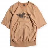 <img class='new_mark_img1' src='https://img.shop-pro.jp/img/new/icons50.gif' style='border:none;display:inline;margin:0px;padding:0px;width:auto;' />WEST RIDE / CLOUD SHORT SLEEVE FRONT V CREW NECK (MUSTARD)