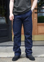 <img class='new_mark_img1' src='https://img.shop-pro.jp/img/new/icons1.gif' style='border:none;display:inline;margin:0px;padding:0px;width:auto;' />TROPHY CLOTHING - MIL DENIM BAKER PANTS (INDIGO)