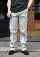 <img class='new_mark_img1' src='https://img.shop-pro.jp/img/new/icons1.gif' style='border:none;display:inline;margin:0px;padding:0px;width:auto;' />TROPHY CLOTHING - PIN CHECK TROUSERS (OLIVE)