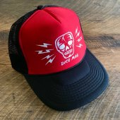 <img class='new_mark_img1' src='https://img.shop-pro.jp/img/new/icons1.gif' style='border:none;display:inline;margin:0px;padding:0px;width:auto;' />DicE magazine / Skull & Bolts Trucker Cap (RED)