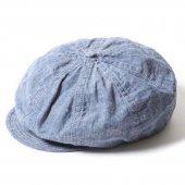 TROPHY CLOTHING -SUMMER PRISONER CAP (INDIGO)