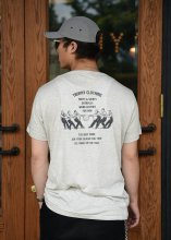 TROPHY CLOTHING - WORKERS MIX TEE (OATMEAL)