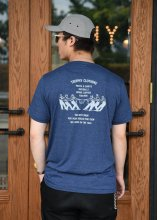 TROPHY CLOTHING - WORKERS MIX TEE (H.NAVY)