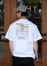 TROPHY CLOTHING - SEARS POCKET TEE (WHITE)