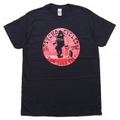 PSYCHO CYCLES / NYC AXEMAN S/S TEE (BLACK/RED)