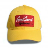 <img class='new_mark_img1' src='https://img.shop-pro.jp/img/new/icons1.gif' style='border:none;display:inline;margin:0px;padding:0px;width:auto;' />GOODSPEED equipment - GSE Logo Patch Cotton Cap (YELLOW)