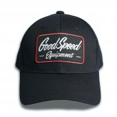 <img class='new_mark_img1' src='https://img.shop-pro.jp/img/new/icons1.gif' style='border:none;display:inline;margin:0px;padding:0px;width:auto;' />GOODSPEED equipment - GSE Logo Patch Cotton Cap (BLACK)