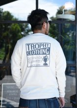 <img class='new_mark_img1' src='https://img.shop-pro.jp/img/new/icons1.gif' style='border:none;display:inline;margin:0px;padding:0px;width:auto;' />TROPHY CLOTHING - BOX LOGO OD L/S TEE (NATURAL)