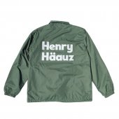 <img class='new_mark_img1' src='https://img.shop-pro.jp/img/new/icons1.gif' style='border:none;display:inline;margin:0px;padding:0px;width:auto;' />HENRY HAUZ / HENRY HAUZ COACH JKT (FOREST GREEN)