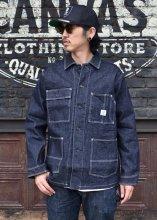 <img class='new_mark_img1' src='https://img.shop-pro.jp/img/new/icons1.gif' style='border:none;display:inline;margin:0px;padding:0px;width:auto;' />HWZN.MFG.CO. / FULLY STRETCH DENIM COVERALL JACKETS