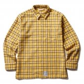 <img class='new_mark_img1' src='https://img.shop-pro.jp/img/new/icons1.gif' style='border:none;display:inline;margin:0px;padding:0px;width:auto;' />SOFTMACHINE / SOUTHERN SHIRTS (YELLOW)
