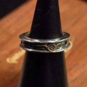 ROAD - Drilled Ring ( SILVER/BRASS )