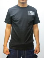 LOSER MACHINE - FLYING HIGH POCKET BASIC TEE (BLACK)