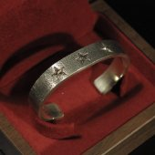 ROAD - Three Star Bangle(Silver × K10)