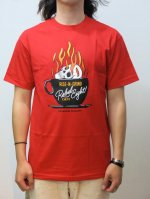 REBEL8 - RISE-N-GRIND TEE (RED)