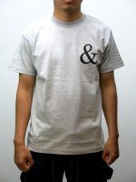 TUGBOAT GARMENTS - AND QUESTION TEE (H.GRAY)