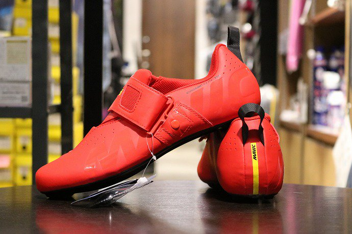 MAVIC(マヴィック) Cosmic Elite Tri FIERY RED/Black
