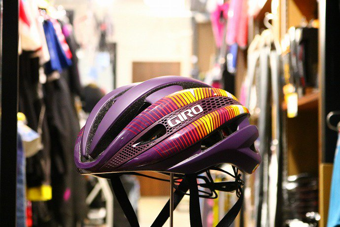 GIRO(ジロ) SYNTHE MIPS  ASIAN FIT Matte-Dusty-Purple-Heatwave