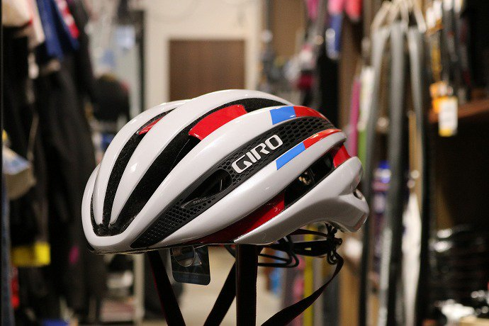 GIRO(ジロ) SYNTHE  White/Red/Blue