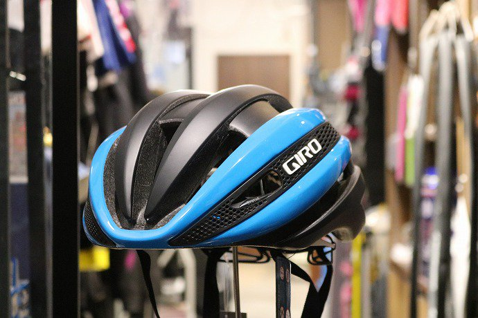 GIRO(ジロ) SYNTHE  Blue/Matte Black
