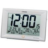 電波環境目安付卓上時計