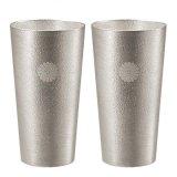 錫 ビアカップ(2個入)