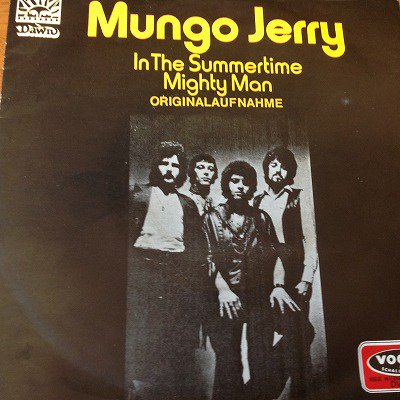 Mungo Jerry and The brothers grimm / In the summertime (7inch german org)