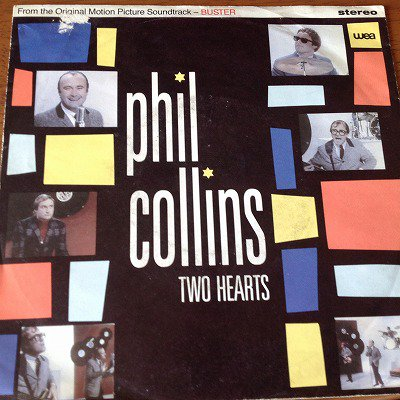 PHIL COLLINS / TWO HEARTS (7inch german )