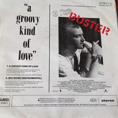 Phil Collins / A Groovy Kind Of Love (7INCH GERMAN ORG)
