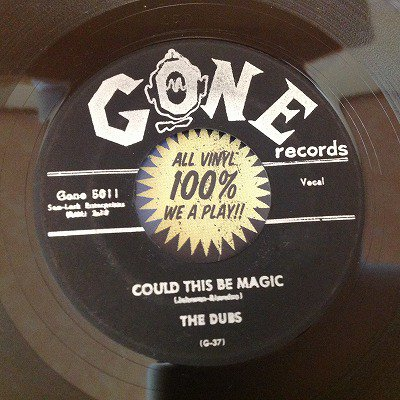 The Dubs / Could this be magic (7inch us gone press)