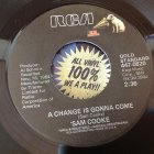 SAM COOKE / a change is gonna come(7inch us )