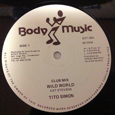 Tito simon / Wild world (12inch uk org)