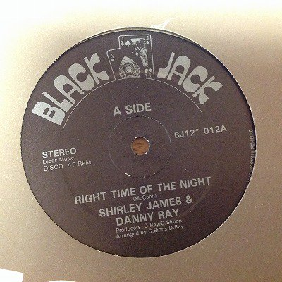 Shirley james & Danny ray / Right time of the night (12inch uk org)
