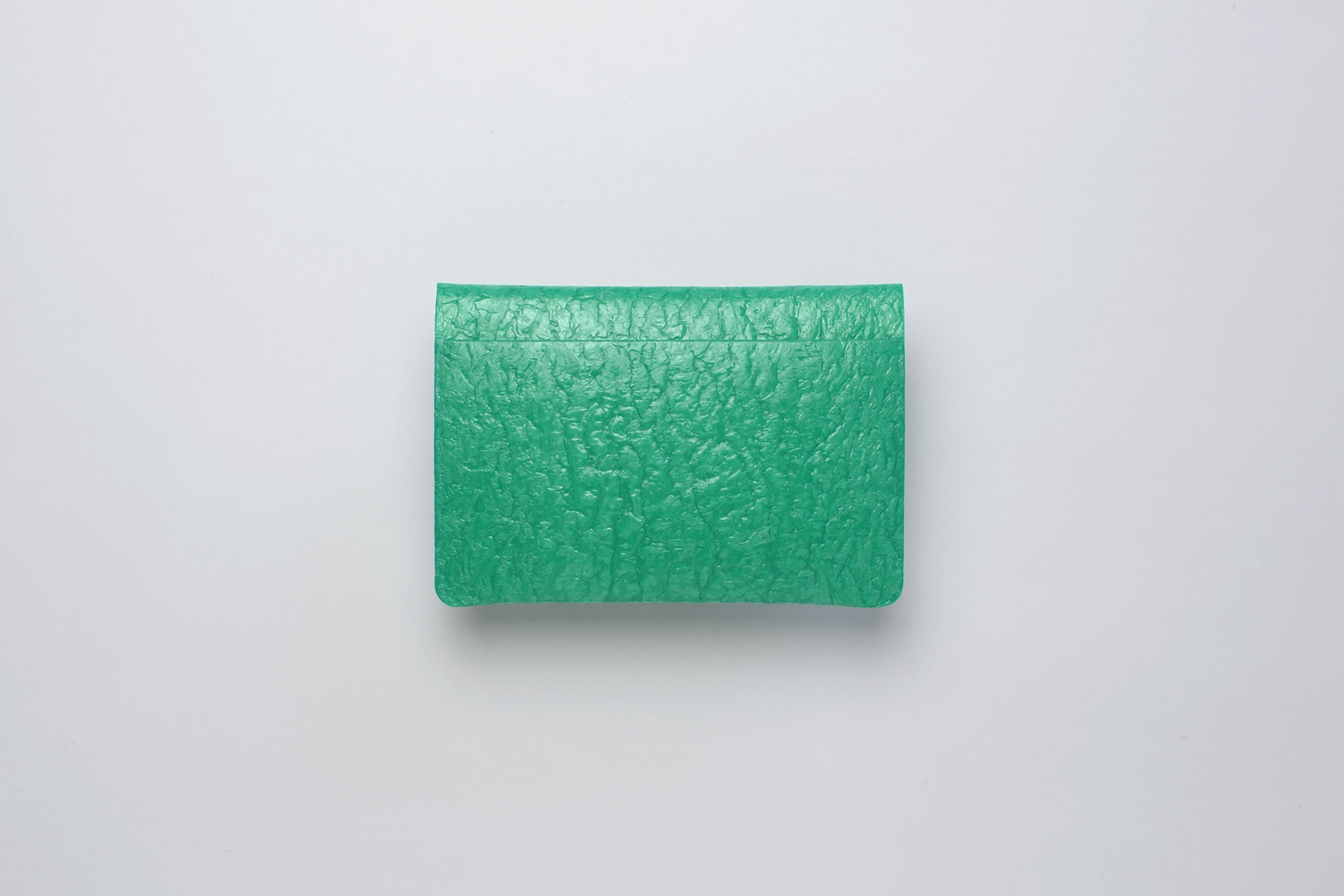 PE CARD CASE_EMERALD GREEN