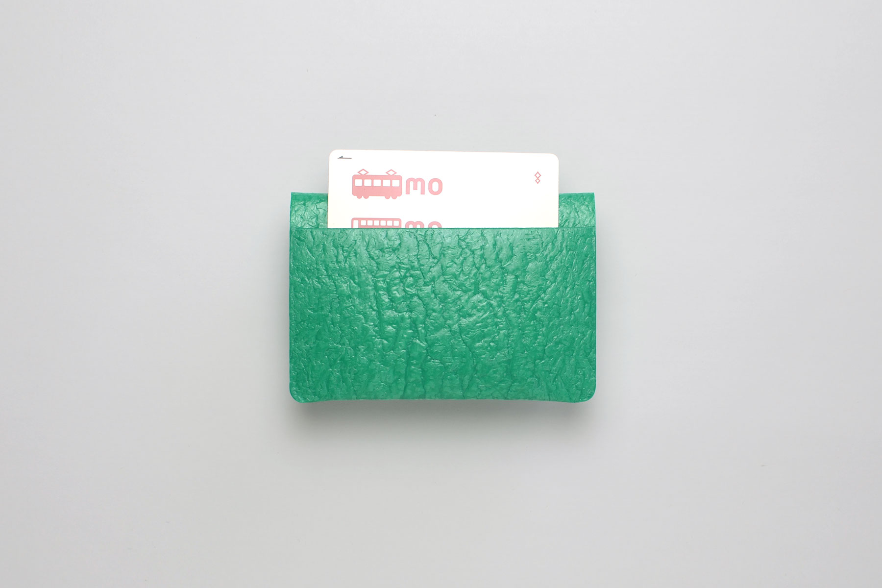 PE CARD CASE_EMARALD GREEM