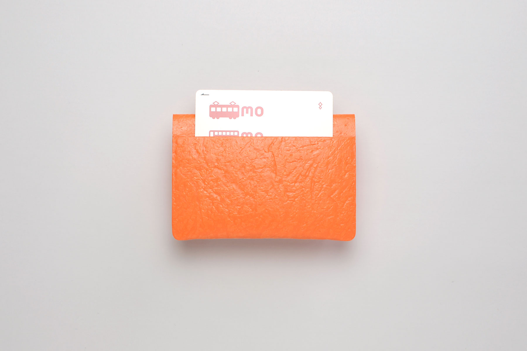 PE CARD CASE_light orange