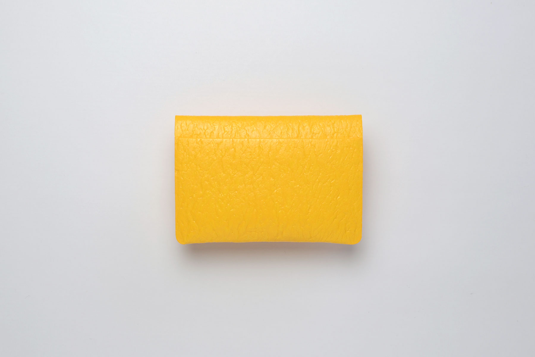 PE CARD CASE_YELLOW
